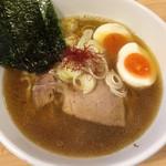 麺屋M - 煮干そば(750円)+味玉(100円)