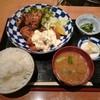 森川 - 料理写真:揚げ鶏定食 1,000円