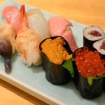 浦島鮨 - 上寿司