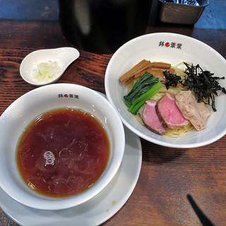 """鉢ノ葦葉 - 料理写真:つけそば""""煮干しの時間""""醤油味"""
