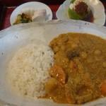 ぶんぶく - 料理写真:精進カレー