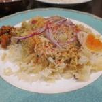 ナンタラ - 野菜ビリヤニ