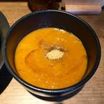 つけめん・らーめん 海老鶏麺蔵 - 海老つけ汁