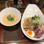 麺作 赤シャモジ - 2017/01/13 つけシャモジ しょうゆ(特盛り) 800円