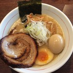 まっくうしゃ - 塩(海老×鯛)チャーシュー&味玉