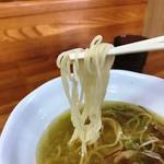 魔界ラーメン 月光 - 麺はストレート