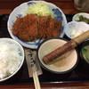 囲炉裏 - 料理写真:日替定食(ロースカツ)