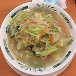日高屋 - 料理写真:野菜たっぷりタンメン