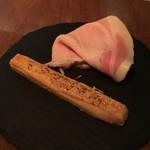 calme - サブレ・フロマージュと岩中豚のハム