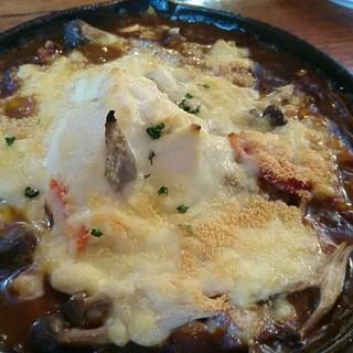Cafe Winds - 料理写真:季節野菜と豆腐、ベーコンの焼きカレー