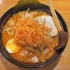 メガらーめん - 料理写真:ピリ辛ラーメン(激辛レベル1)大盛