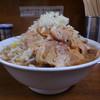 ラーメン麺徳 - 料理写真:豚入り大ラーメン(そのまま)