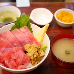 海鮮丼 大江戸 - N上丼¥2800