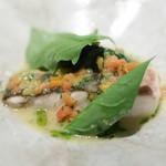 Point - 料理写真:平目のロティ ソースマリニエール
