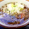 野呂パーキングエリア(上り)スナックコーナー - 料理写真:かけそば340円
