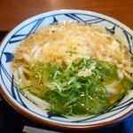 丸亀製麺 - いつもの「かけ」280円