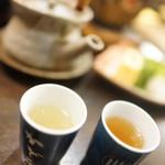 かど屋 - 鰻酒と出汁