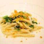 リストランテ ドゥエ フィオーリ - 白魚と菜の花のトロフィエ