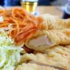 みその - 料理写真:ミックスフリッター(海老・チキン)スパゲッティ添え1,300円