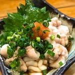 漁十八番 - 白子ポン酢
