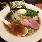 麺処 篠はら - 味玉醤油そば950円