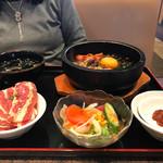 61296973 - 2017/01 石焼ビビンバ&焼肉ランチ 1,180円(税抜き)