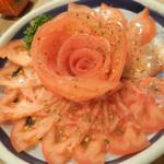 鳥繁 - トマトサラダ