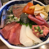 宝水産 - 料理写真:6種丼に赤身、サーモントッピング! ★★★☆☆