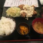永山本店 - チキン南蛮定食700円
