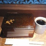やば珈琲店 - お弁当とホットコーヒー