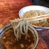 麺食堂 大金豚 - 料理写真:つけ麺にしては細い面