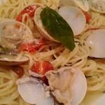 オリーブハウス - はまぐりスープスパゲッティ¥1210