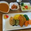 BONGA - 料理写真:Kさんが頼んだ『季節の野菜カレー(カレーセット)。小鉢とサラダがセットです。