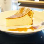 コーネルコーヒー - チーズケーキ¥500