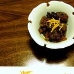 かき豊 - 牡蠣醬油煮