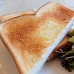 café de campagne - トースト(いい焼き色~)