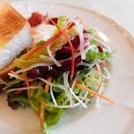 café de campagne - サラダ(彩りきれい~)