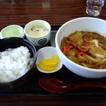 どんどん - 料理写真:カレーうどん定食