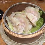 肉餃子専門店 THE GYO - 蒸し餃子4個(432円税込)
