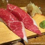 肉餃子専門店 THE GYO - 江戸前桜寿司 大トロ一貫(324円)