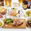 世界のビール博物館 - 料理写真:歓送迎会コース