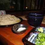 三椒庵 - 塩と本山葵