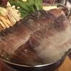 ときわ - 料理写真:イカ鍋の火入れ前
