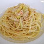 6136573 - 蟹と白菜のパスタ