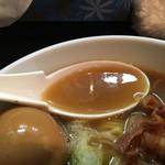 一条流がんこラーメン 総本家 - この日はしょっぱくない絶品スープ