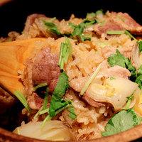 【季節限定】特製出汁の鴨ねぎ土鍋飯