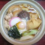 うどん処 杉 - 鍋焼きのアップ