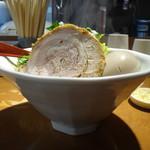 萬馬軒 花橙 - グリーンカレーらーめん+味付玉子