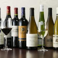 70種類以上のワイン!!
