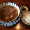 黒船亭 - 料理写真:五目あんかけ坦々麺=770円 ※冬期限定商品